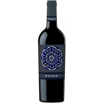 vino tinto blau montsant