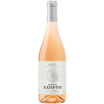 boceto de exopto vino rosado rioja