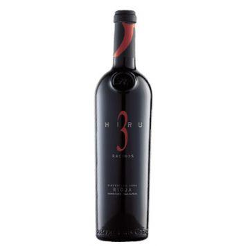 Hiru 3 Racimos luis cañas vino tinto rioja
