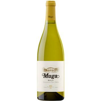 muga blanco fermentado barrica vino rioja