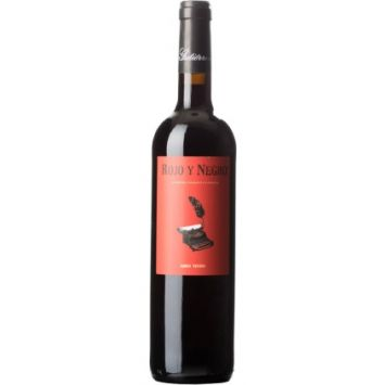 vino tinto rojo y negro bodegas gutierrez de la vega alicante