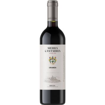 sierra cantabria crianza vino tinto rioja