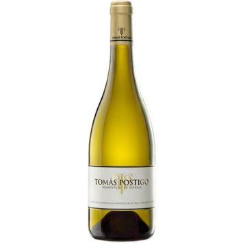 Tomás Postigo Blanco Fermentado en Barrica 2016 vino de Castilla y Leon Tomás Postigo