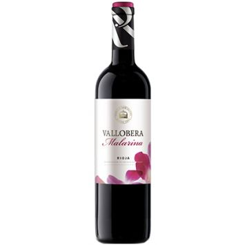 vino vallobera malarina rioja