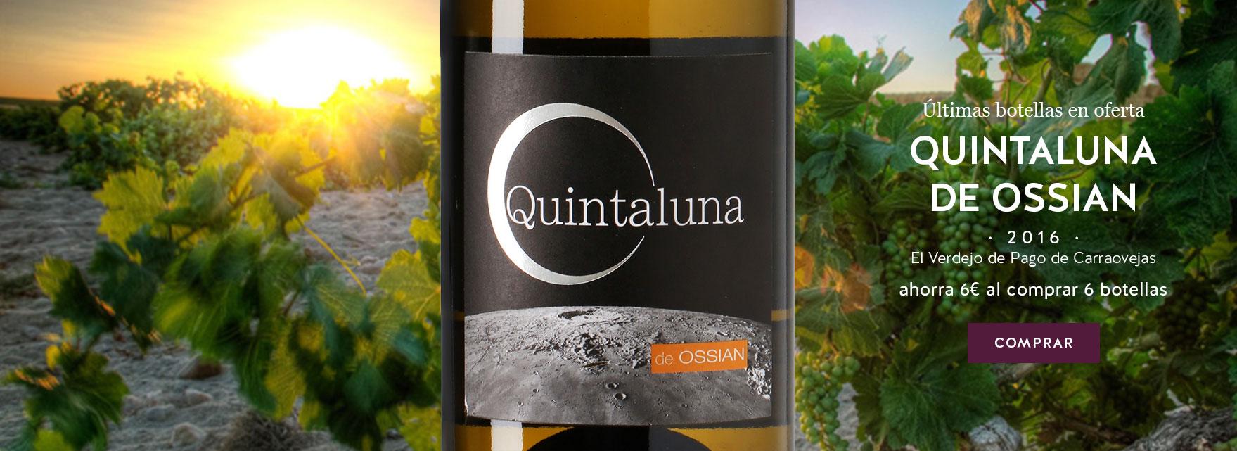 Últimas botellas de Quintaluna 2016