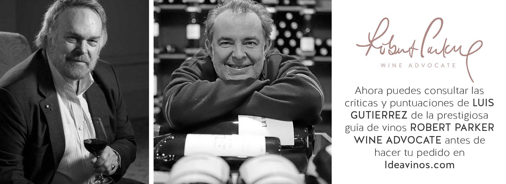 Criticas y puntuaciones de vino Robert Parker